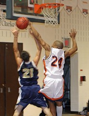 No basket for you dude! (Dragon Weaver) Tags: sports basketball sport action 24 block eagles top20sports