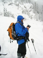 Me and my big camera gut (Mark Griffith) Tags: snow washington hiking hike snowshoeing snowlake alpental snoqualmiepass alpinelakeswilderness markgriffith