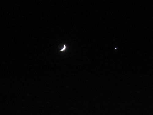 Mjesec i Venera