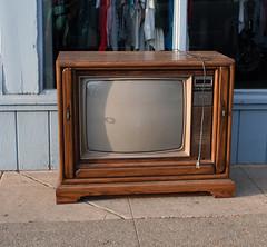 Televisión muy muy vieja