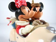 Hallmark: Mickey's car (WEBmikey) Tags: christmas disney mickeymouse minniemouse hallmark