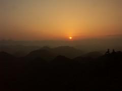 """Hyakken-gura""  (R26B) Tags: sunset sky mountain nature silhouette japan ilovenature japanese twilight minolta scene yang u1  nippon yin       jpn kumano worldheritage wakayama  overlap    kumanokodo     hyakkengura komoriku     r26b"