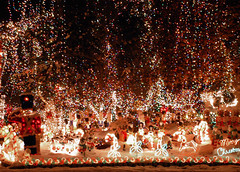 Need More Lights! (Sister72) Tags: daystillchristmas snow decorations lights colors sister72 christmas overdoneorjustright holmdel nj monmouthcounty usa xmas