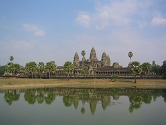 Reflecting on Angkor Wat