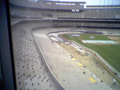 Dodger Stadium Seat Replacement Project (ExperienceLA) Tags: cameraphone downtownla