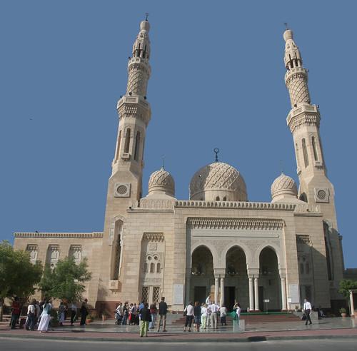 Jumeira Mosque por bigbluemeanie.
