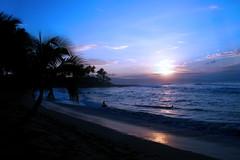Sunset on Napili Bay -- Different Day (Life of David) Tags: blue sunset beach beautiful topv111 ilovenature hawaii none maui napili napilibay wwwdavidlevinsonphotographycom