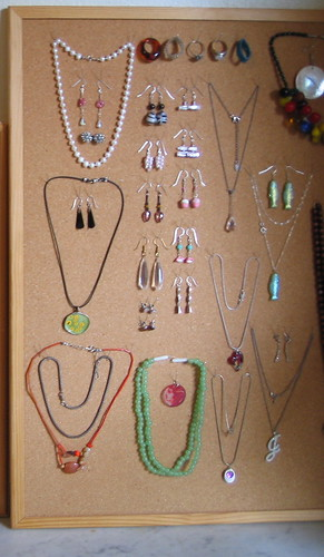 Organizing my jewelry