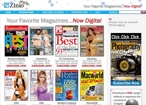 magazines free