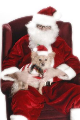 Rusty and Santa