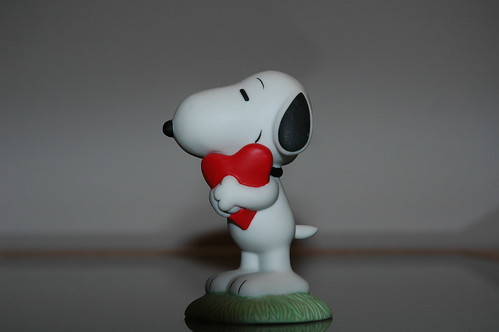 Snoopy is in Love