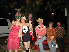 Jason's 1st American Halloween KEG PARTY!!! (Darcie) Tags: 2003 friends party jason halloween austin costume ut friend cowboy university texas hubby craziness fancydress mylife avalon darcie hubbyme jasondarcie jasonanddarciejasonanddarcie darcietanner