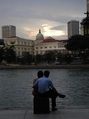 A riverside romance
