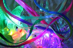party! (Farl) Tags: china christmas party colors night lights necklace philippines plastic cebu ribbon blink cheap pinoythemepasko favors disposable mandaue cebusugbo firsttheearth
