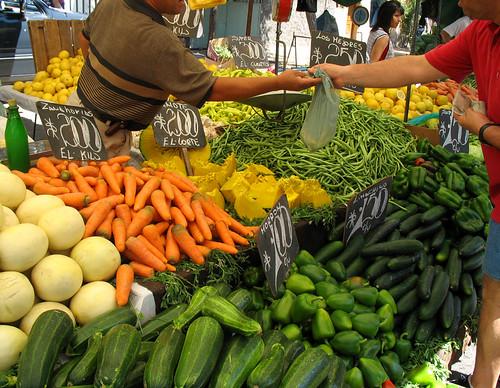 Un mercado donde escoger. Foto cortesía de: Niconectado