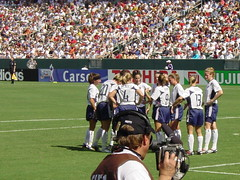 US Women's Soccer Team at 2003 World Cup
