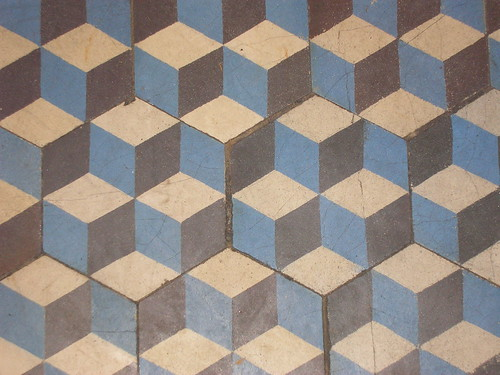 floor tile pattern - a photo on Flickriver