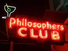 Philosophers Club (Telstar Logistics) Tags: sanfrancisco sign neon philosophers bar