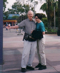 Mum and Dad at Phoenix Zoo 2004
