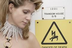 More Danger Of Death (the_steve_cox) Tags: woman house sign danger bristol death escape s transom 1221 stevecox photoportunity photoportunitycom