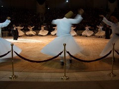 Sema at the Konya Whirling Dervish Ceremony