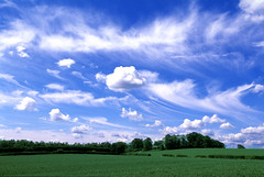 Sky (moi_images) Tags: sky clouds scottish fields borders