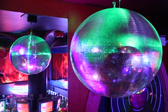 Disco ball (Bruno Girin) Tags: disco ball mirror nightclub