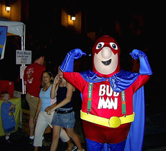 Bud Man, Oh Yeah ! (See El Photo) Tags: carnival blue girls red people 15fav favorite man hot halloween beer festival kids night drunk pose dark fun outside costume kid crazy october comic muscle character drinking stranger hero superhero 100views cape hotties 200views fav bud flex budlight octoberfest goodtimes 1000views 1f faved budman 2f 222v2f 111v1f walkinh bluecape fullcostume