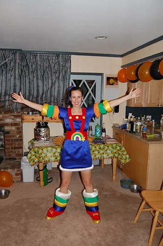 child rainbow brite costume