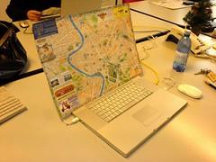 Google Maps auf dem MacBook
