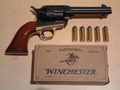 "Uberti Colt 1873 Cattleman ""Peacemaker"" Replica (Hound_Cat) Tags: uberti 1873 cattleman single action army peacemaker 45 long colt"
