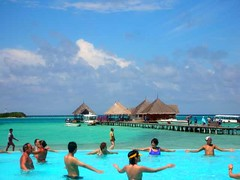 Pool of Clubmed Kanifinolhu Maldives