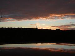 Lighthouse in the Sunset (FlowrBx) Tags: sunset lighthouse reflection topv111 wonder nebraska albaluminis topc50 bestviewedlarge flowrbx lakeaksarben canyousayhoax mustreadtagsnexttime interestingness343