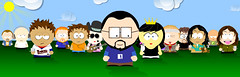 Me and my South Park posse