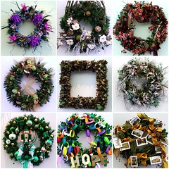 Nine Wreaths - by Creativity+ Timothy K Hamilton