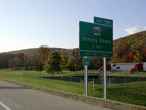 """Jersey Shore"" Road Sign"