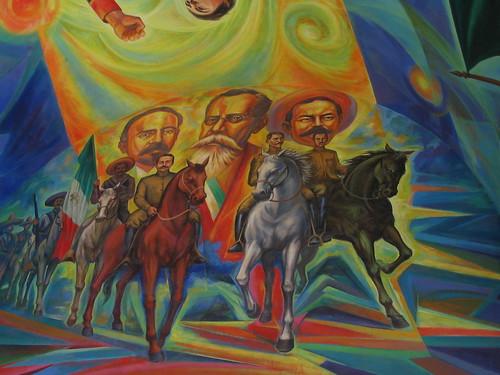 Revolucion Mexicana Mural Revolucion Mexicana