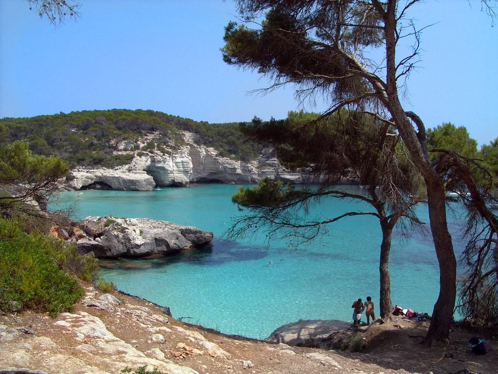 Photo des Baleares n°3. Cala Mitjana. Paysage maritime des Baléares