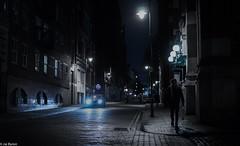 Manchester : After Dark (kungfuslippers) Tags: manchester afterdark nighttime streetlights silhouette