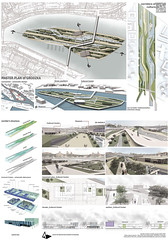 Milena Ivanovic, Master plan for Szczecin Islands, concept design for Cultural centre, Szczecin, 2014.
