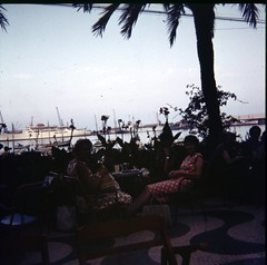img283 (foundin_a_attic) Tags: 1970s glass slide 77 70s fashion ships hotel drinks palm trees