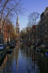 Zuiderkerk (LOlandeseVolante) Tags: holland netherlands amsterdam rock sex reflections canal n coffeeshop drugs roll boattrip redlightdistrict biertje toomany hookers hemp gracht junkies pimps squatters euthanasia jenever turists marjhuana