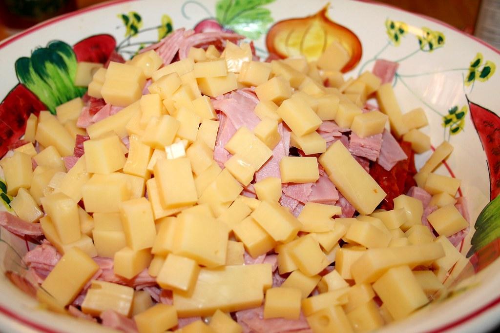 Diced Swiss Cheese