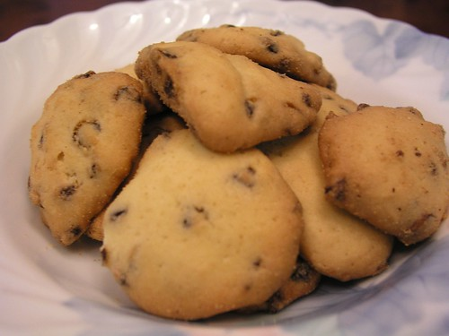 巧克力小西餅@永和救國團兒童烘焙班