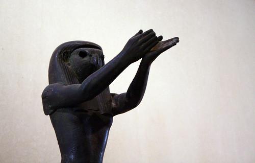 Horus en bronze