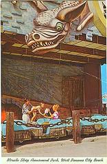 Miracle Strip Amusement Park Haunted Castle dark ride (stevesobczuk) Tags: seaside florida amusementpark 1960s panamacitybeach hauntedhouse miraclestrip hauntedcastle redneckriviera darkride us98 frontbeachrd