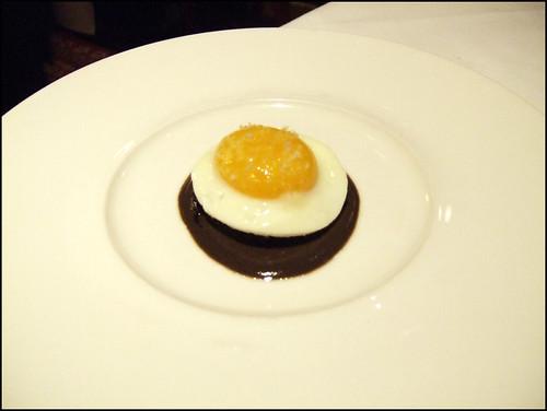 Manresa (Los Gatos) - Abalone, Fried Egg, & Truffle