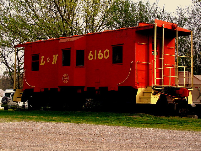 Pegram's Red Caboose