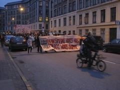 Köpenhamn: Demonstration