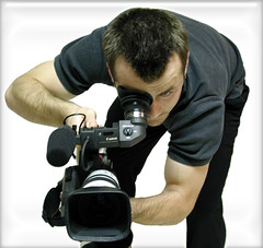 Self-Portrait (Scott Kinmartin) Tags: camera portrait selfportrait me self canon pose scott video digitalcamera director cinematographer filmmaker canonxl1 videographer scottkinmartin 15challenges canonxl